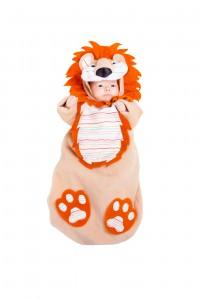 Los saquitos que mantienen calientes, prioridad con los disfraces de bebé (AEFJ)