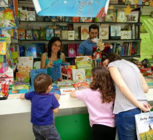 'Chiquitina' en la Feria del Libro de Madrid,