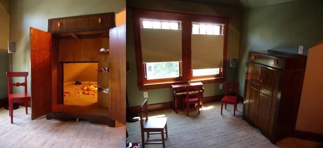 Un escondite secreto en una habitaci n infantil madre - Escondites secretos en casa ...