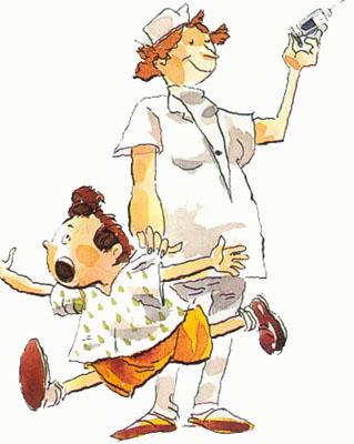 Tu enfermera/o de pediatría hace algo para aliviar el dolor de las ...