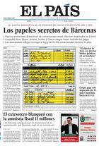 Portada de El Pais, 31-1-2013