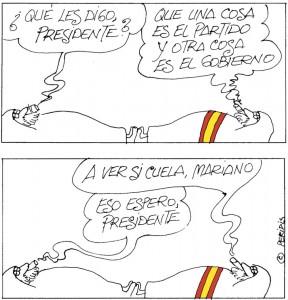 Peridis, en El País de hoy