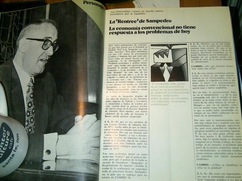 Paginas 22 y 23 del nº 1 de Cambio 16 (22-11-1971)