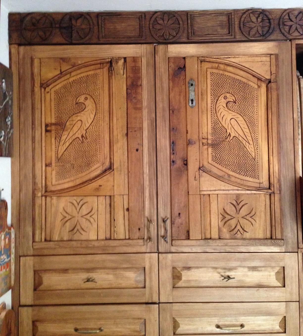 Amish se nos ve el plumero for Puertas cocina integral
