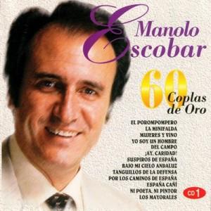 60 coplas de oro de Manolo Escobar