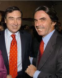 """Pedro J. Ramírez, con su """"aliado"""" Aznar"""