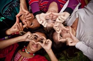 Encuentro internacional de jóvenes activistas en Nueva Delhi (Pablo Tosco)