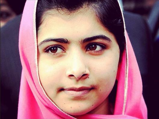 Malala, activista paquistaní por la educación de las niñas