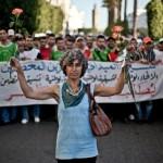 Manifestación en Marruecos. Imagen de Pablo Tosco