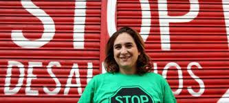Ada Colau, portavoz de la Plataforma de Afectados por la Hipoteca (PAH)