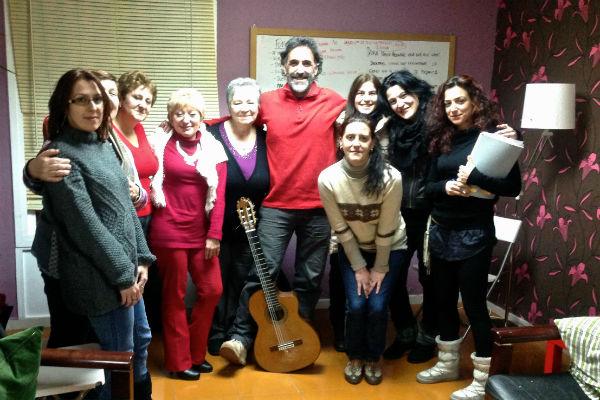 Participantes en el taller Fabricanciones. Imagen de Generando Igualdad