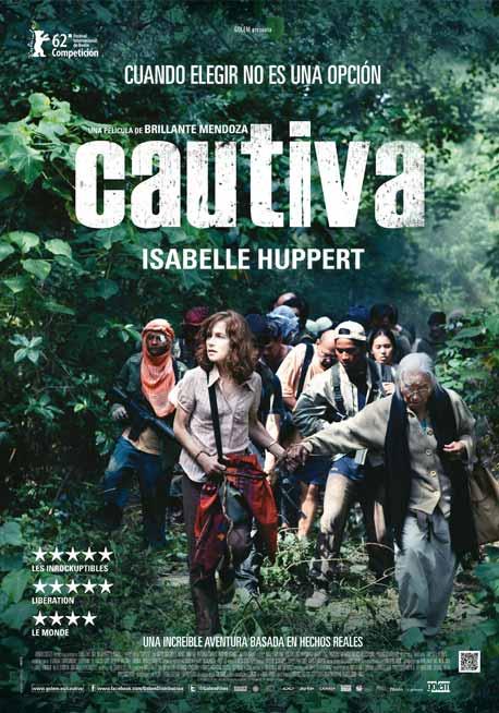 Cautiva. Cartel de la película dirigida por Brillante Ma. Mendoza