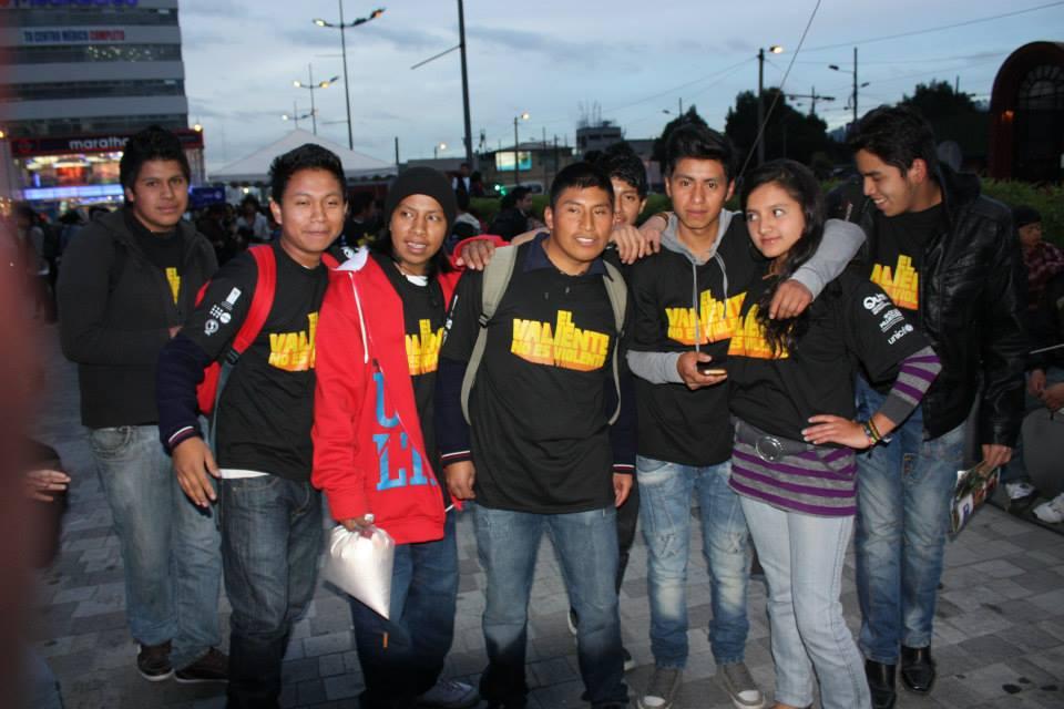 Los  jóvenes que participan en la iniciativa pueden hacer sus propias propuestas. (c) ONU Mujeres
