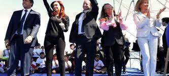 La Presidenta de Argentina en un acto público (Imagen 20 minutos)