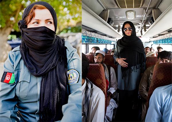 Mujeres policía en Afganistán
