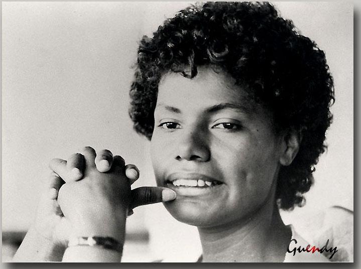 María Elena Moyano, dirigente popular de Villa el Salvador, Lima, Perú. Madre Coraje