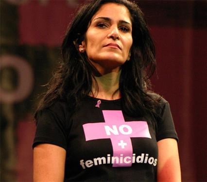 La periodista mexicana Lydia Cacho