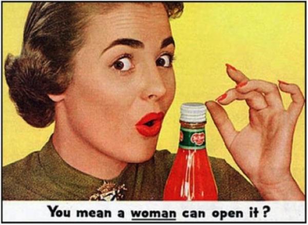 ¿Quieres decir que una mujer puede abrirlo?