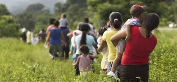 Migrantes. Imagen: Observatorio Frontera Sur de México
