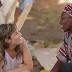 Patricia Polite durante su visita a Burkina Faso en octubre de 2013