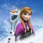 Cartel promocional de la película Frozen