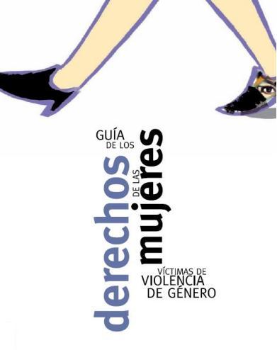 Portada de la Guía de Derechos de las Mujeres Víctimas de Violencia de Género. www.malostratos.org