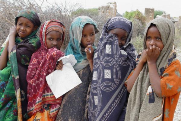 Niñas de Marigat (Kenia). Imagen: World Vision