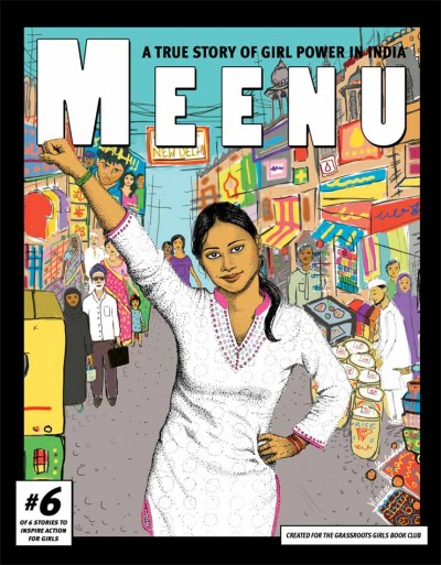 Novela gráfica de Meenu. Imagen: http://www.globalfundforwomen.org/