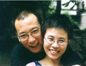 Liu Xiaobo y Liu Xia. Foto particular.