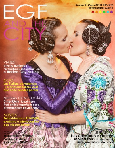 Portada de la revista EGF and the City. Marzo 2014