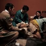 Momento de un parto. Fotografía de Olmo Calvo