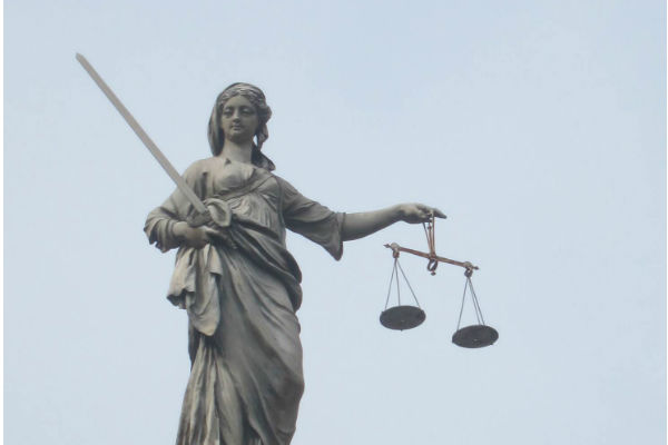Imagen de la justicia. Dublin Castle.  Fotografía: B. de la Banda