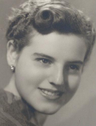 María, en una imagen antigua. Imagen: archivo personal.