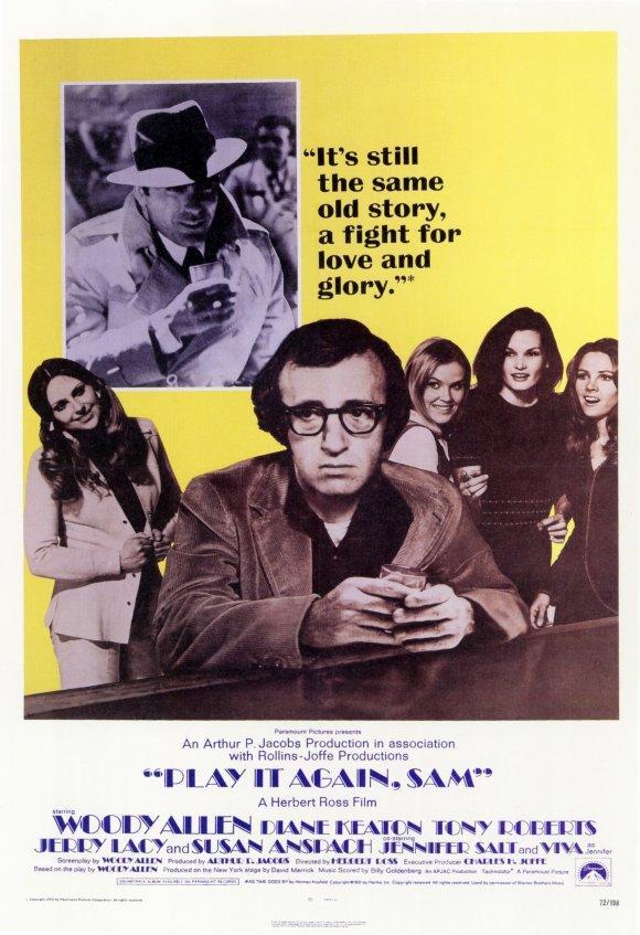 Cartel de la película 'Sueños de un seductor', de Woody Allen.