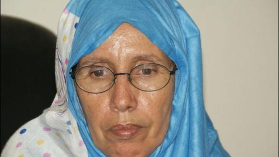 Aminetou, la activista de Mauritania cuya vida ha sido amenazada. Imagen de change.org