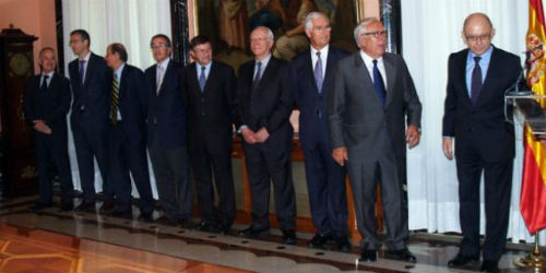 Comité de expertos para la reforma fiscal. Imagen: minhap.gob.es
