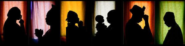 De la sombra a la luz. Imagen de la campaña contra la violencia en Mali de Oxfam Internacional.