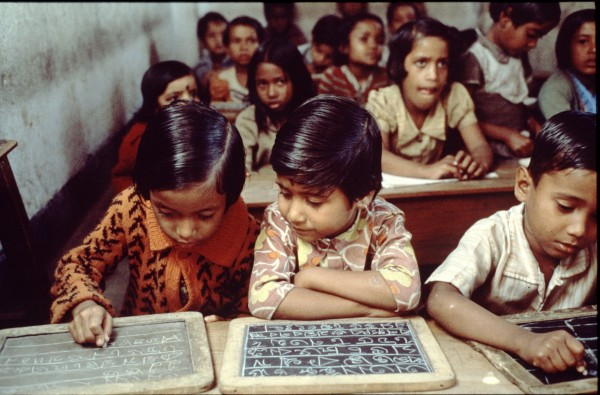 Imagen de una escuela en India. (C) Oxfam Intermón