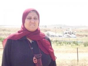 Una mujer de Gaza, en 2009. Imagen: Oxfam Intermón.