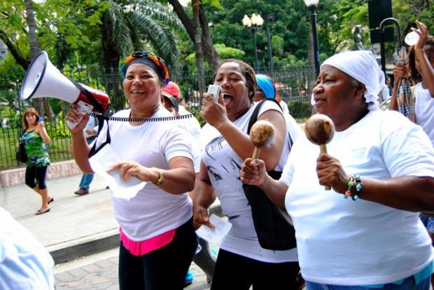 Los programas de derechos de las mujeres en América Latina han sufrido grandes recortes. (c) Giselle Viteri Cevallos