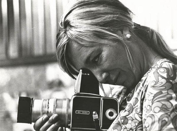 Juana Biarnés, en una imagen del proyecto del proyecto de Crowdfunding para un documental sobre su trayectoria.