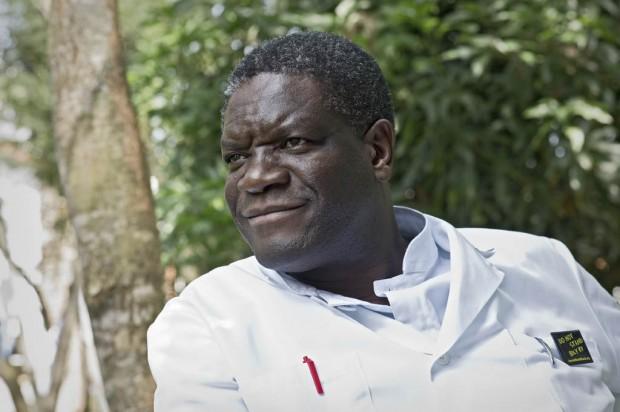 Denis Mukwege, Premio Sajarov del Parlamento Europeo 2014. Imagen: europarl.org