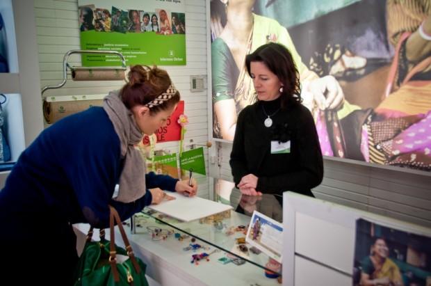 El 77,5% de los voluntarios de Oxfam Intermón son mujeres. (c) Alejandro Herrero/Intermón Oxfam