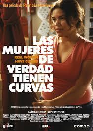 Cartel de la película 'Las mujeres de verdad tienen curvas'.