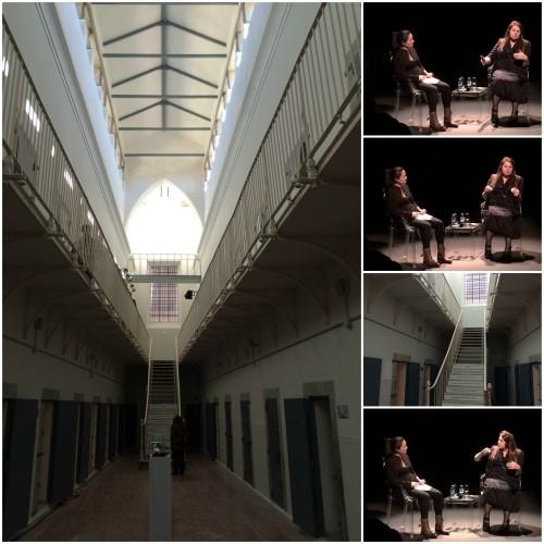 Imágenes de la antigua cárcel de mujeres de Segovia y del encuentro de Mujeres que transforman el mundo. Foto: Charo Mármol.