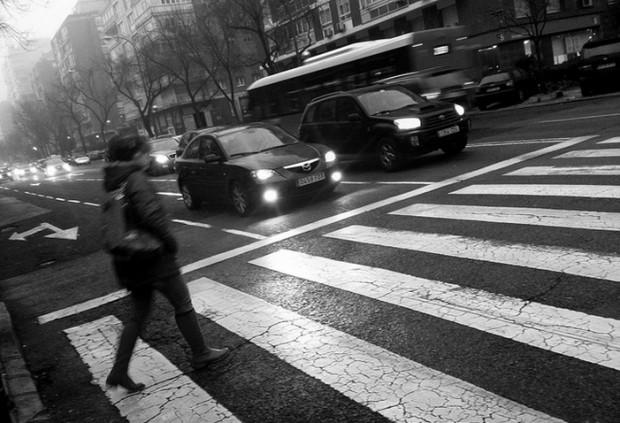 Día de lluvia en Madrid. Imagen de Sergio Perea.