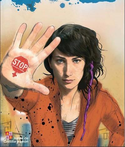 Campaña contra la violencia de género de la Junta de Castilla  y León.