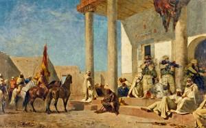 Audiencia en casa de un califa (c) Nermine Hammam
