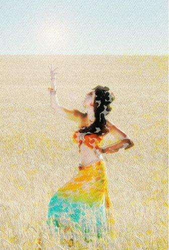 Danza del vientre. Imagen de TrasTando sobre fotografía de Sergio Perea.