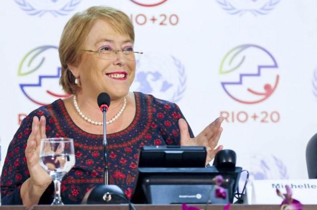 Michelle Bachelet en su época como Directora Ejecutiva de ONUMujeres. Imagen: UN Photo/Maria Elisa Franco